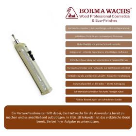 Batteriebetriebenes Hartwachs Schmelzer