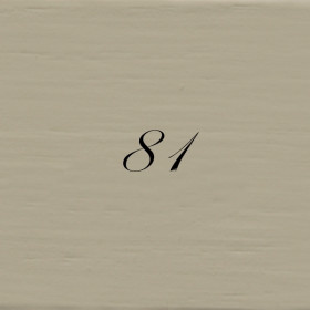 Kreidefarbe 750ml -  HELLGRAU-OLIVGRÜN - 81