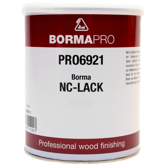 BORMA-PRO NC Transparent Lack 1 Liter