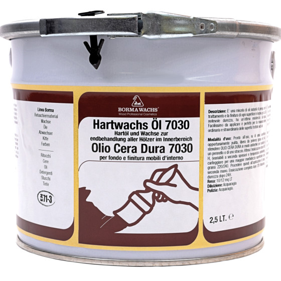 Hartwachs-Öl 7030 pastös - 2,5L