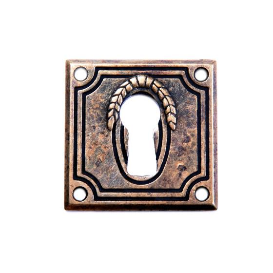 Antikmöbel Griff Schlüsselschild