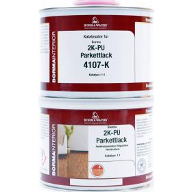 2K PU Parkettlack A+B Seidenmatt 5 Liter
