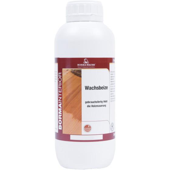 WACHSBEIZE - Positiv-Wachsbeize auf Wasserbasis1 Liter