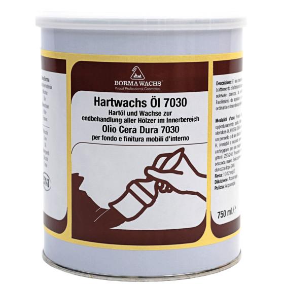 Hartwachs-Öl 7030 pastös - 750ml