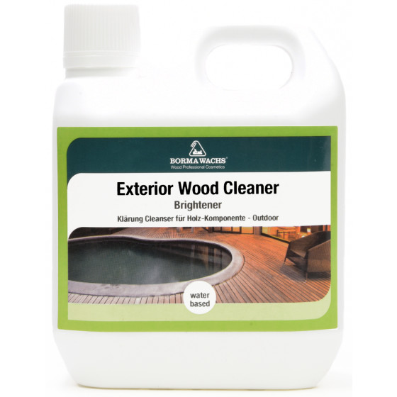 Holz-Reinigung für den Außenbereich