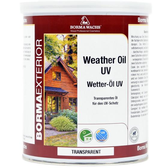 Wetter und UV Schutzöl
