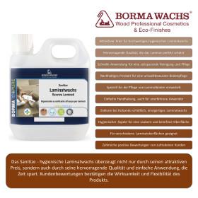 Sanitize Hygienisches Laminatwachs 1 Liter