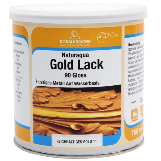Goldlack auf Alkydharzbasis 750ml
